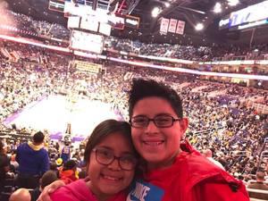 Sahib attended Phoenix Suns vs. Golden State Warriors - NBA on Feb 8th 2019 via VetTix