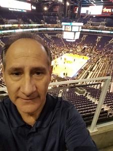 Mark attended Phoenix Suns vs. Golden State Warriors - NBA on Feb 8th 2019 via VetTix