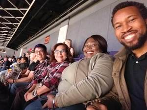 Kelechi attended Phoenix Suns vs. Golden State Warriors - NBA on Feb 8th 2019 via VetTix