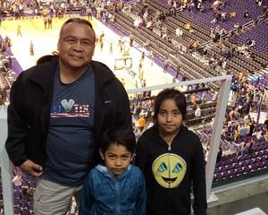 Wil attended Phoenix Suns vs. Golden State Warriors - NBA on Feb 8th 2019 via VetTix