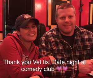 Pentecost attended Comedian Langston Kerman - 21+ on Feb 27th 2019 via VetTix