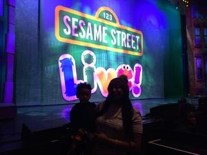 Brandice Carson attended Sesame Street Live! Make Your Magic - Children's Theatre on Feb 10th 2019 via VetTix
