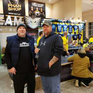 Brandon attended Monster Jam Triple Threat Series on Feb 24th 2019 via VetTix