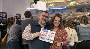 Fred Dixon attended Kelly Clarkson on Feb 9th 2019 via VetTix