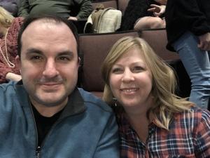 Justin attended Kelly Clarkson on Feb 9th 2019 via VetTix