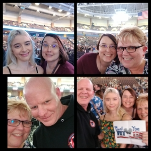Tim and Tami attended Kelly Clarkson on Feb 9th 2019 via VetTix