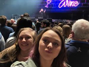 Christy Tylman attended Kelly Clarkson on Feb 9th 2019 via VetTix