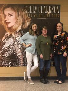 Jose attended Kelly Clarkson on Feb 9th 2019 via VetTix