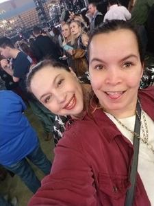 Tabitha attended Kelly Clarkson on Feb 9th 2019 via VetTix