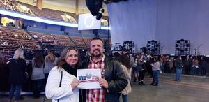 JOHN attended Kelly Clarkson on Feb 9th 2019 via VetTix