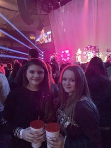 Tommye attended Kelly Clarkson on Feb 9th 2019 via VetTix