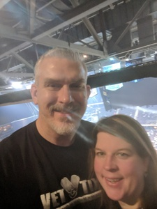 Bryan attended Cher: Here We Go Again Tour With Nile Rodgers and Chic on Feb 6th 2019 via VetTix