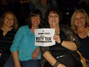 Chris attended Cher: Here We Go Again Tour With Nile Rodgers and Chic on Feb 6th 2019 via VetTix