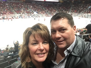 Andrew attended Arizona Coyotes vs. St. Louis Blues - NHL on Feb 14th 2019 via VetTix