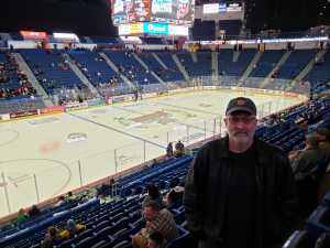 Dennis attended Hartford Wolf Pack vs. Binghamton Devils - AHL on Mar 13th 2019 via VetTix
