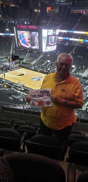 David attended Pac-12 Men's Basketball Tournament - All Tournament Passes on Mar 13th 2019 via VetTix