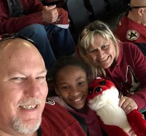 RAYMOND attended Arizona Coyotes vs. Toronto Maple Leafs - NHL on Feb 16th 2019 via VetTix