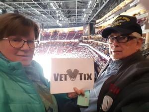 Nicholas attended Arizona Coyotes vs. Toronto Maple Leafs - NHL on Feb 16th 2019 via VetTix