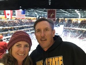 brett attended Arizona Coyotes vs. Toronto Maple Leafs - NHL on Feb 16th 2019 via VetTix