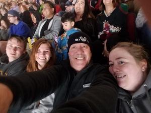 Richard attended Arizona Coyotes vs. Toronto Maple Leafs - NHL on Feb 16th 2019 via VetTix