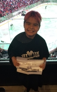 Lorenzo attended Arizona Coyotes vs. Toronto Maple Leafs - NHL on Feb 16th 2019 via VetTix