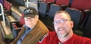 Ralph attended Arizona Coyotes vs. Toronto Maple Leafs - NHL on Feb 16th 2019 via VetTix