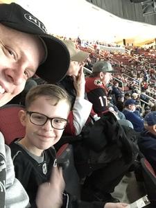 Mark attended Arizona Coyotes vs. Toronto Maple Leafs - NHL on Feb 16th 2019 via VetTix