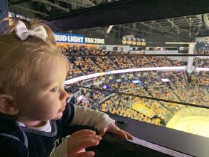 Douglas attended Nashville Predators vs. Dallas Stars - NHL on Feb 7th 2019 via VetTix