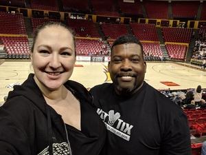 Kevin attended ASU Sun Devils vs. Colorado - NCAA Women's Basketball on Feb 15th 2019 via VetTix