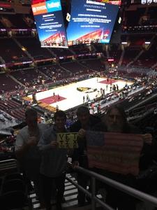 Kerry and friends attended Cleveland Cavaliers vs. New York Knicks - NBA - Tonight! on Feb 11th 2019 via VetTix