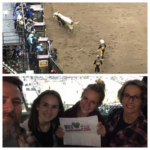 Shad attended PBR Iron Cowboy- Feb. 22 Tickets on Feb 22nd 2019 via VetTix