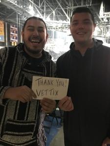 joseph attended PBR Iron Cowboy- Feb. 22 Tickets on Feb 22nd 2019 via VetTix