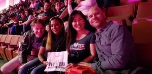 Kristina attended Kiss: End of the Road World Tour - Pop on Feb 12th 2019 via VetTix