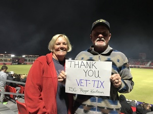 Roger attended 2019 Mobile Mini Sun Cup: Phoenix Rising vs. Real Salt Lake - USL on Feb 16th 2019 via VetTix