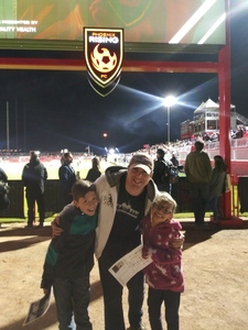 Zachary attended 2019 Mobile Mini Sun Cup: Phoenix Rising vs. Real Salt Lake - USL on Feb 16th 2019 via VetTix