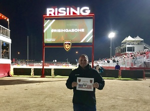 Bryan attended 2019 Mobile Mini Sun Cup: Phoenix Rising vs. Real Salt Lake - USL on Feb 16th 2019 via VetTix
