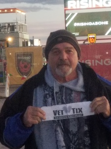 Donald attended 2019 Mobile Mini Sun Cup: Phoenix Rising vs. Real Salt Lake - USL on Feb 16th 2019 via VetTix