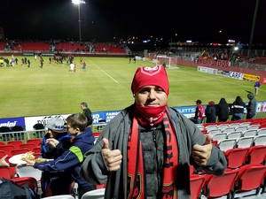 Luis attended 2019 Mobile Mini Sun Cup: Phoenix Rising vs. Real Salt Lake - USL on Feb 16th 2019 via VetTix
