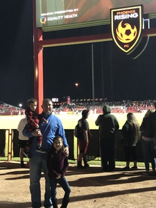 Michael attended 2019 Mobile Mini Sun Cup: Phoenix Rising vs. Real Salt Lake - USL on Feb 16th 2019 via VetTix