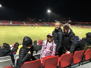 Grant attended 2019 Mobile Mini Sun Cup: Phoenix Rising vs. Real Salt Lake - USL on Feb 16th 2019 via VetTix