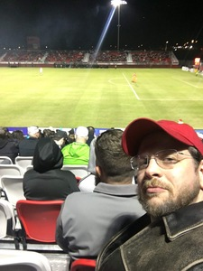 Nathan attended 2019 Mobile Mini Sun Cup: Phoenix Rising vs. Real Salt Lake - USL on Feb 16th 2019 via VetTix