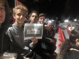 Helene attended 2019 Mobile Mini Sun Cup: Phoenix Rising vs. Real Salt Lake - USL on Feb 16th 2019 via VetTix