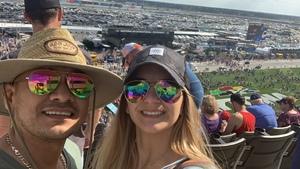 Fidel attended 61st Annual Monster Energy Daytona 500 - NASCAR Cup Series on Feb 17th 2019 via VetTix
