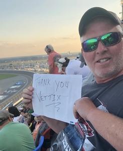 Roger attended 61st Annual Monster Energy Daytona 500 - NASCAR Cup Series on Feb 17th 2019 via VetTix