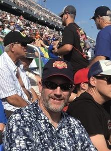 Marc attended 61st Annual Monster Energy Daytona 500 - NASCAR Cup Series on Feb 17th 2019 via VetTix