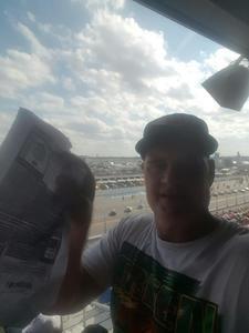 Gregory attended 61st Annual Monster Energy Daytona 500 - NASCAR Cup Series on Feb 17th 2019 via VetTix
