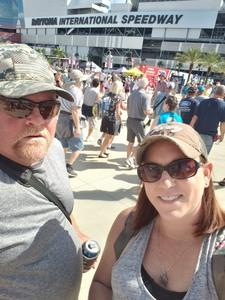 Tina attended 61st Annual Monster Energy Daytona 500 - NASCAR Cup Series on Feb 17th 2019 via VetTix