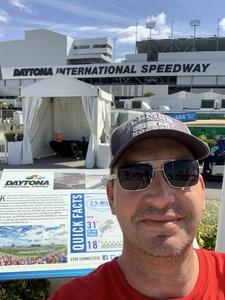 Eric attended 61st Annual Monster Energy Daytona 500 - NASCAR Cup Series on Feb 17th 2019 via VetTix