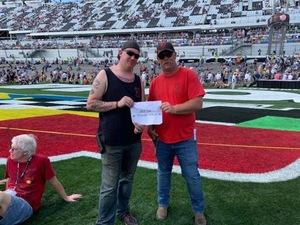 Billy attended 61st Annual Monster Energy Daytona 500 - NASCAR Cup Series on Feb 17th 2019 via VetTix