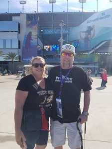Michael attended 61st Annual Monster Energy Daytona 500 - NASCAR Cup Series on Feb 17th 2019 via VetTix